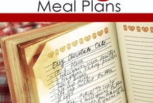 Month meal plans / by Sarah Kathleen