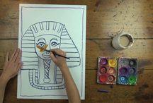 egytian art lessons