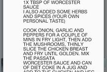 Food recipes and hacks