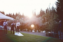 M and M Event Inspiration / Wedding Styling Inspiration Board - Rustic, Modern, Tahoe