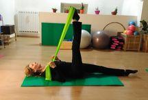 #Pilates exercises / Pilates exercises. Esercizi di pilates