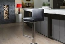 Premium Commercial Quality Bar Stools / Superior, Commercial Quality, Heavyweight Bar Stools 8 Styles All Available In 5 New Stylish Colours, White, Black, Grey, Beige and Cream. Brushed Stainless Steel Stem And Base