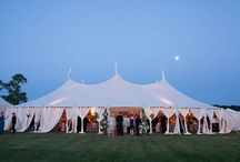 Tented weddings