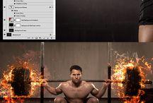 Photoshop burn