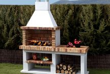 Fireplace & barbeque areas
