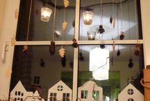 vánoční okna