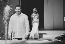 First Look Wedding Inspiration / First Look is becoming so popular, and for a good reason! This is when the groom sees the bride before the ceremony. Another great alternative is First Touch