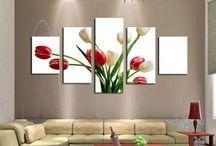Living room wall decor
