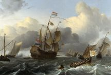 Dutch 17th century maritime painting & Artetcetera