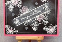 TECHNIKY - Chalkboard