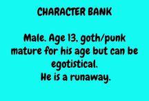 characters bank