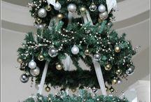 bílé Vánoce / Vánoce, dekorace