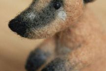 валяние,fellting, игрушки из шерсти / Felting, felt, wool, woolart, toy, toys, dog, cat, cats, elephant, pink rabbit, hare, kitten, bear, teddy, teddy-bear, mint, grey, валяние, сухое валяние