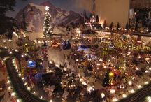 christmas villages / by Deb Hartley