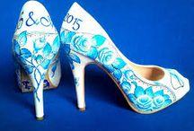 malované boty