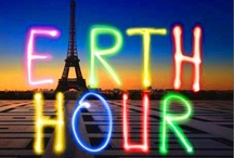 Let's celebrate Earth Hour and Earth Day! / Ideas for celebrating earth hour with kids! / by Heather Gardner