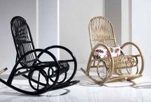 SEDIE A DONDOLO / Idee e proposte per decorare e arredare la tua casa con sedie a dondolo originali.