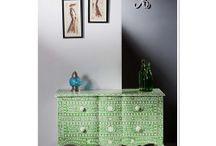 Bone Inlay Furniture / Bone Inlay Furniture