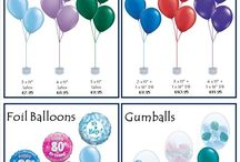 VIP Balloons Price Guides