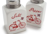 Salt and Pepper Shakers / by Frances Caudill