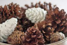 Рождество и Новый год / идеи на новогодние праздники, елки, венки, шишки и т.д.