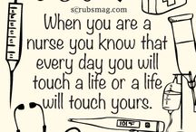 Nursing / Inspirational and humorous quotes for nurses