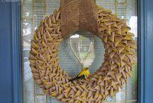 Wreaths / Beautiful wreaths we love!