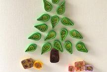 quilling christmes