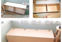 Diy storage bench :O