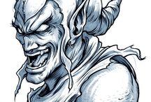 Green Goblin by Enrico Galli #comics #art