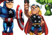 Os Vingadores Personagens