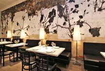 cafe/bar mural