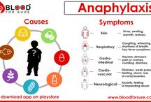 Anaphylaxis / Anaphylaxis is a severe life-threatening allergic reaction which affects more than one body part at the same time. The most common causes of anaphylactic reactions include foods, insect stings, latex & some medications. When you are allergic to some substance, the immune system overreacts with allergens & releases chemicals.