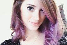 Colourful Hair <3 / Different hair shades that tickle my fancy :) / by KatieLewLa