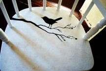 decorative paintings / chairs