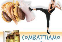 Dimagranti / Integratori naturali Dr. Giorgini contenenti piante e nutritivi utili per coadiuvare diete ipocaloriche finalizzate alla riduzione del peso corporeo.