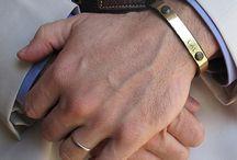 Herren Armbänder
