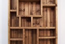 Shelves, shadow boxes