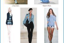 Dusk Blue Fashion