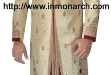 Ready to ship wedding sherwani / Mens wedding readymade sherwani