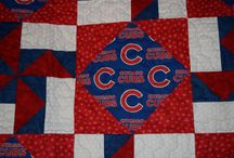 Chicago Cubs quilts