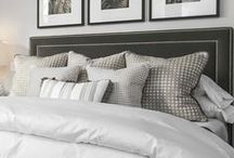 bedroom redo / Ideas and design inspiration for comfortable yet classic bedroom