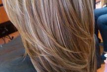 Hair cut & coloring