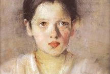 Polish artists. portraits