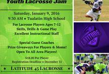 Latitude 45 Lacrosse Youth Programs