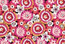 Inspiration: Pixie Blooms / Natural, uncomplicated flowers in shades of warm red, fuchsia and coral blanket this bohemian print.  Shop Pixie Blooms in stores or online at verabradley.com.  / by Vera Bradley