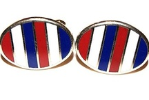 July 4th Patriotic Accessories  / for July 4th, wear accessories that scream patriotism... American Flags, red,white and blue