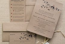 Love Bird Wedding Invitations / A collection of the vintage, rustic and adorable love bird wedding invitations and how you can pull off this look!