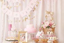 Estelle first birthday
