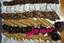 dulces marroquíes de dulce malika / surtidos dulces marroquíes por encargo